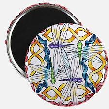 Ryan James Celtic Dragonflies Design Magnet