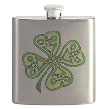 Four-Leaf Clover Flask