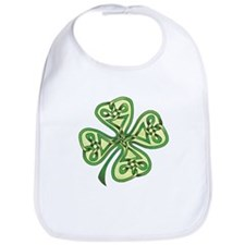 Four-Leaf Clover Bib