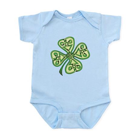 Four-Leaf Clover Infant Bodysuit