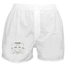 1943 Vintage Birthday (Blackoak) Boxer Shorts