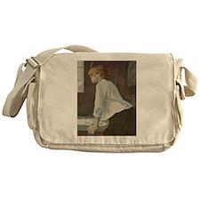 Toulouse-Lautrec The Laundress Messenger Bag