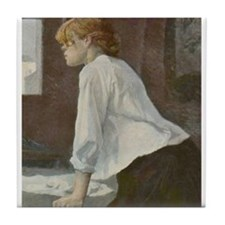 Toulouse-Lautrec The Laundress Tile Coaster
