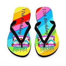 17TH PARTY Flip Flops