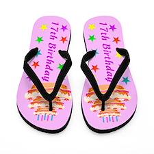 DELIGHTFUL 17TH Flip Flops