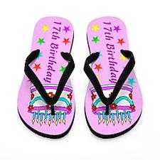 TERRIFIC 17TH Flip Flops