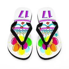 HAPPY 17TH Flip Flops