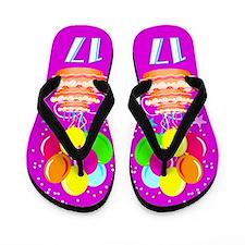 CELEBRATE 17 Flip Flops