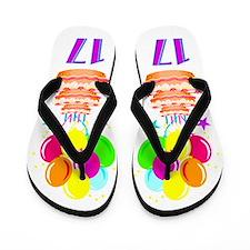 WONDERFUL 17TH Flip Flops