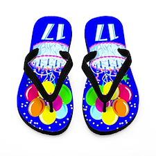 WILD 17TH Flip Flops