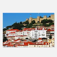 Sao Jorge Castle Postcards (Package of 8)