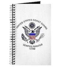 USCG Flag Emblem Journal