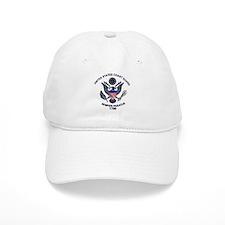 USCG Flag Emblem Baseball Cap