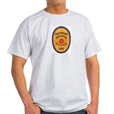 SPS Police Ash Grey T-Shirt
