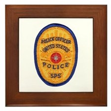 SPS Police Framed Tile
