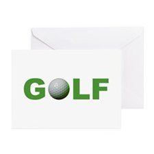 Golf Greeting Cards (Pk of 10)