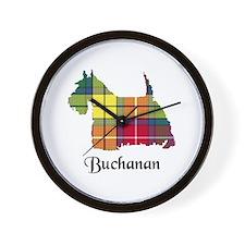 Terrier - Buchanan Wall Clock