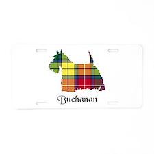 Terrier - Buchanan Aluminum License Plate