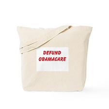Defund Obamacare Tote Bag
