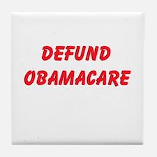 Defund Obamacare Tile Coaster