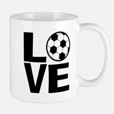 Love Soccer Mugs