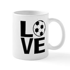 Love Soccer Mugs