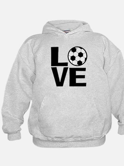 Love Soccer Hoodie