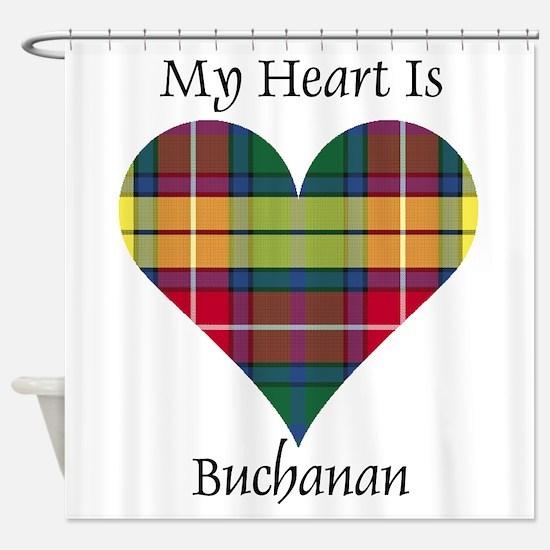 Heart - Buchanan Shower Curtain