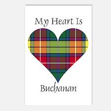 Heart - Buchanan Postcards (Package of 8)
