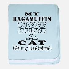 Ragamuffin Cat Designs baby blanket