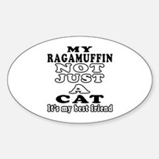 Ragamuffin Cat Designs Decal