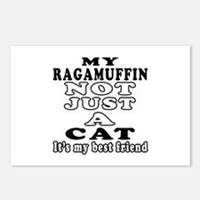 Ragamuffin Cat Designs Postcards (Package of 8)