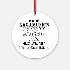 Ragamuffin Cat Designs Ornament (Round)