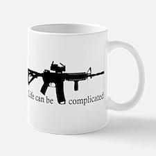AR-15 Life Can Be Complicated Mug