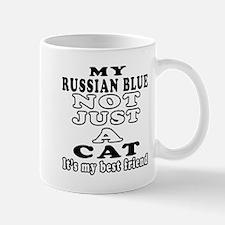 Russian Blue Cat Designs Mug