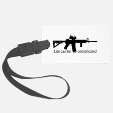 AR-15/M4 Complicated Life Luggage Tag