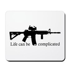 AR-15/M4 Complicated Life Mousepad