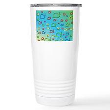 Colorful snails Travel Mug