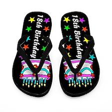 GLAMOROUS 18TH Flip Flops