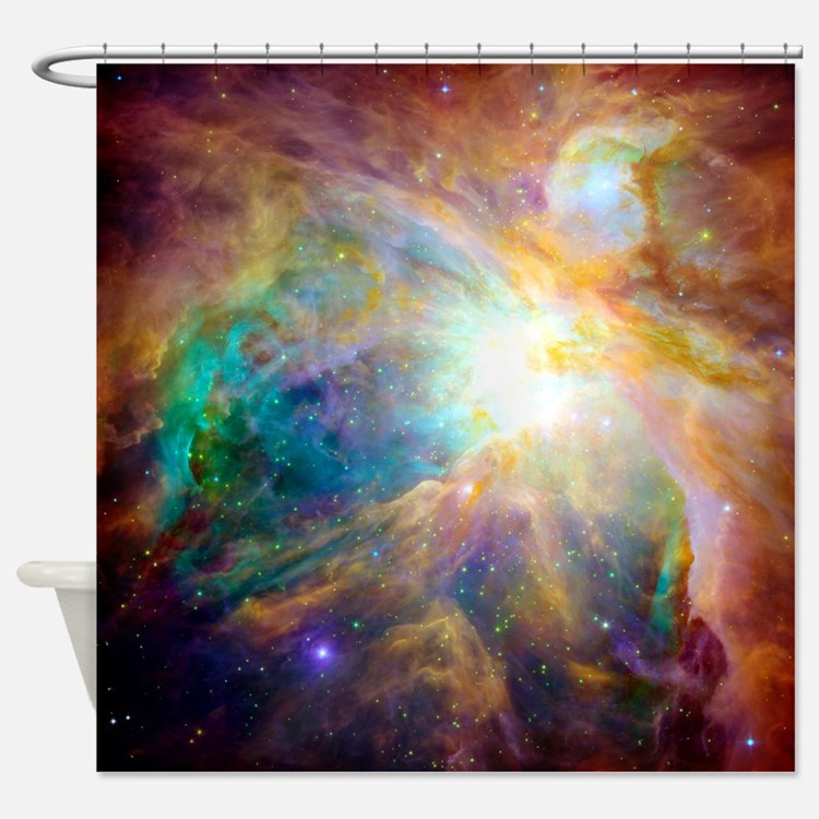 Nebula Space Scence Shower Curtain