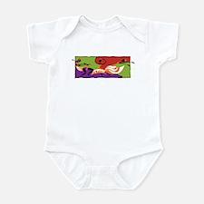 Caribbean Limbo Dance Infant Bodysuit