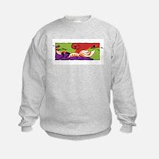 Caribbean Limbo Dance Sweatshirt