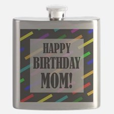 Happy Birthday For Mom Flask