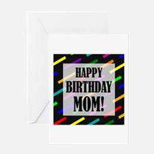 Happy Birthday For Mom Greeting Card