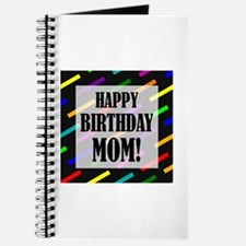 Happy Birthday For Mom Journal