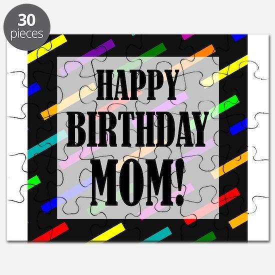 Happy Birthday For Mom Puzzle