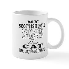 Scottish Fold Cat Designs Mug