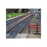 Railroad track Blankets