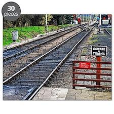 Beware of trains Puzzle