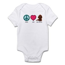Peace Love & Irish Setters Infant Bodysuit